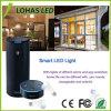 Ampoule sèche de WiFi coloré de DEL avec E27 9W $$etAPP à télécommande pour le dîner d'usager