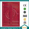 Personnaliser les portes en bois solides intérieures de PVC pour des Chambres