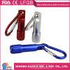 Алюминиевый электрофонарь факела минуты СИД Keychain Carabiner