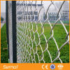 Alta calidad caliente sumergido galvanizado cadena de plástico cerca de la valla