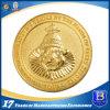 Покрынная золотом монетка возможности для сувенира или промотирования