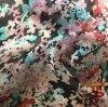 30d Water Roller Print Poly Chiffon Tecido para o vestido