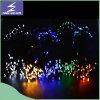 lumière solaire de chaîne de caractères de Noël DEL de 100LEDs 17m