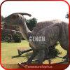 Matériel de stationnement de dinosaur de sculpture en dinosaur d'Animatronics