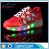 Chaussures de l'espadrille DEL de gosse de type de mode avec la roue rechargeable
