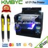 A3 impresora ULTRAVIOLETA de la pluma de la talla LED Injek