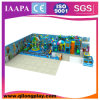 Campo de jogos interno do tema do oceano com trem (QL-17-23)