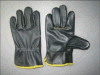 Dunkle Farben-Möbel-voller lederner Fahrer Glove-4010