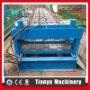 Rullo d'acciaio delle mattonelle di tetto della piattaforma di pavimento di Gavanized che forma la linea di produzione della macchina