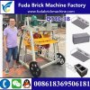 Small Qt40-3b Mobile Vibrate Block Machine / Vibrate Block Making Machine