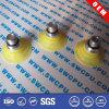Copo de borracha personalizado da sução com a ponta do parafuso de metal (SWCPU-R-S264)
