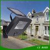 Уличный свет солнечного сада фары датчика движения СИД высокой яркости солнечного напольный