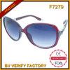 Logotipo feito sob encomenda do tipo dos óculos de sol relativos à promoção elegantes do frame do PC F7279 gravado
