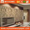 Revêtement de mur lavable de vinyle de PVC avec le catalogue de papier peint