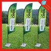 Знамя пера напольный рекламировать красного сочинительства письма Attrative изготовленный на заказ