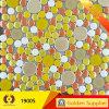 Круглая стеклянная керамическая мраморный мозаика строительного материала мозаики (19005)