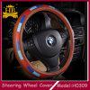 De kleurrijke Dekking van het Stuurwiel van het Leer SWC van de Vezel van de Toebehoren van de Auto Super