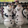 Prezzo di Cheapter del costume della mascotte dell'uomo della neve di Olaf del rifornimento per usura