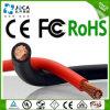 Fio elétrico do cabo de borracha de cobre desencapado flexível da soldadura do revestimento do condutor