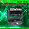 Spoor die van 16 Oog RGBW van DJ het Lichte 4in1 HoofdLicht bewegen