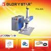 Máquina quente da marcação do laser da fibra da jóia da venda 20W