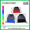 Shoeの昇進のNylon Mesh Backpack Polyester Drawstring Mesh Bag