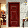 Hot Red Willow Wooden Security Door (sx-8-1082A)