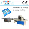 Cup plástico Packaging Machine com Counting System
