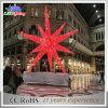 Luz ao ar livre nova quente da corda das decorações do Natal do motivo da estrela da paisagem
