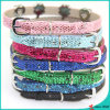 Schein 8mm Leather Cats Collar Wholesale (PC16041401)