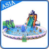 巨大なInflatable Elephant Water Park、Pool Water Park GamesのWater Slide