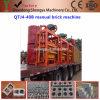 Цены машины кирпича цемента пепла Qtj4-40, машина бетонной плиты давления руки