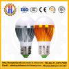 Lampada incandescente, lampada rotonda della sfera di Head/LED3with5With7W/LED
