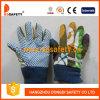 Enfants/gants de Childredn. Points bleus sur la paume (DGK416)