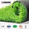 Césped artificial del verde del precio bajo de la alta calidad