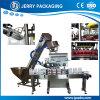 En línea automático torciendo la fábrica del equipo del casquillo que capsula plástico y de aluminio