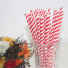 Party al por mayor Striped Drinking Paper Straws para Christmas Day