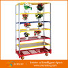 Sale를 위한 창고 Display Shelf Galvanized Iron Flower Cart