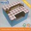 Boîte adaptée aux besoins du client à gâteau avec la poignée (QYZ355)