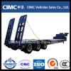 Cimc трейлер тележки кровати 3 Axle низкий