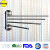 Patented Suction Cup를 가진 돌릴수 있는 Swing 4 Towel Bar Rack Holder