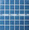 patroon van de Golf van 48X48mm verglaasde het Blauwe het Ceramische Mozaïek van de Pool (BCK634)