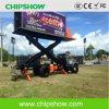 LEIDENE van de Vrachtwagen van de Kleur van Chipshow P10 Volledige Openlucht Mobiele Vertoning
