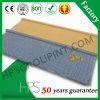 Tipo de madera azulejo de material para techos revestido de la piedra