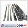 Estante y piñón de acero de engranaje C45