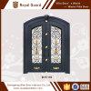 Nuevo diseño de la puerta principal/puerta del diseño de cristal de aluminio de la puerta/de entrada principal