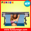 Impressora de alta velocidade do solvente da bandeira do cabo flexível das cabeças 512I 8 de Funsunjet Fs3204k