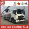 Sinotruk HOWO 25000L 알루미늄 합금 연료 유조 트럭 트레일러