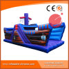 Inflable barco pirata azul T6-601