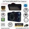 Câmera de carro Full Full HD1080p com tela 3.0 TFT, sensor G, câmera de carro 5.0mega, ângulo de visão 170deg, visão noturna, carro LED IR DVR-3031